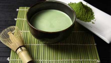 Matcha Tea, Firsd Tea